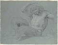 Satyr Reclining on a Ledge, Facing Right (recto); Satyr Reclining on a Ledge, Facing Left (verso) MET 1985.158.1 VERSO.jpg