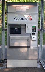 Scheidt & Bachmann Ticket XPress Machine, Shawlands (3006).JPG