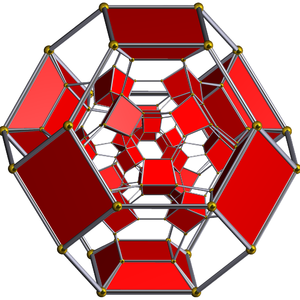 Truncated 24-cell honeycomb - Image: Schlegel half solid truncated 24 cell
