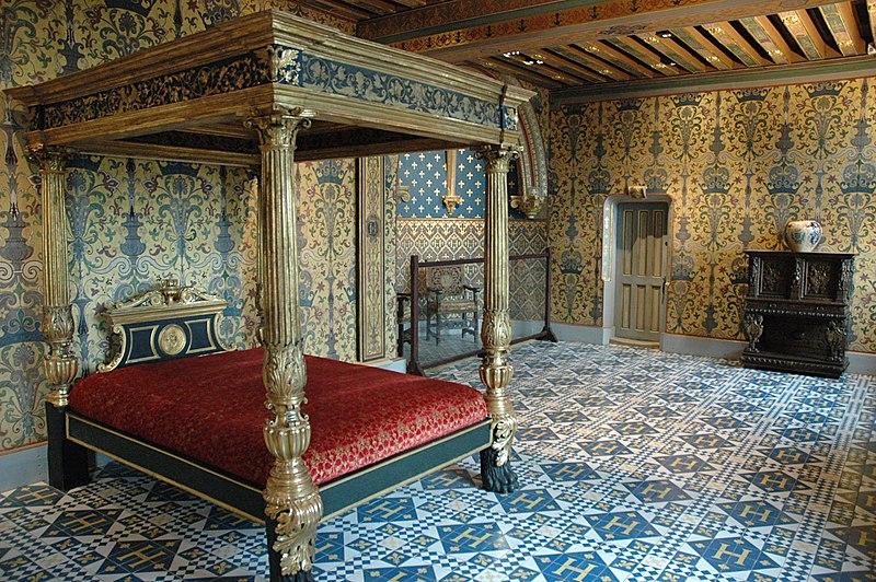 Sal n del trono el castillo de blois for Scene d interieur blois