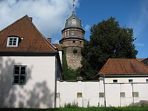 Lordship of Diepholz - Diepholz Castle, the principal seat of the Noble Lords, later Counts, of Diepholz.