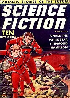<i>Future Science Fiction</i> and <i>Science Fiction Stories</i> two related US pulp science fiction magazines