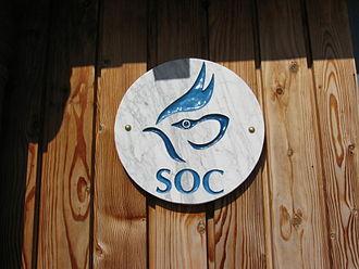 Scottish Ornithologists' Club - Logo of the Scottish Ornithologists' Club