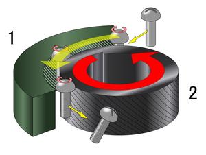 Threading (manufacturing) - Image: Screw (bolt) 15 n