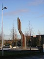 Sculpture Near Clydeview Shopping Centre, Blantyre - geograph.org.uk - 105429.jpg