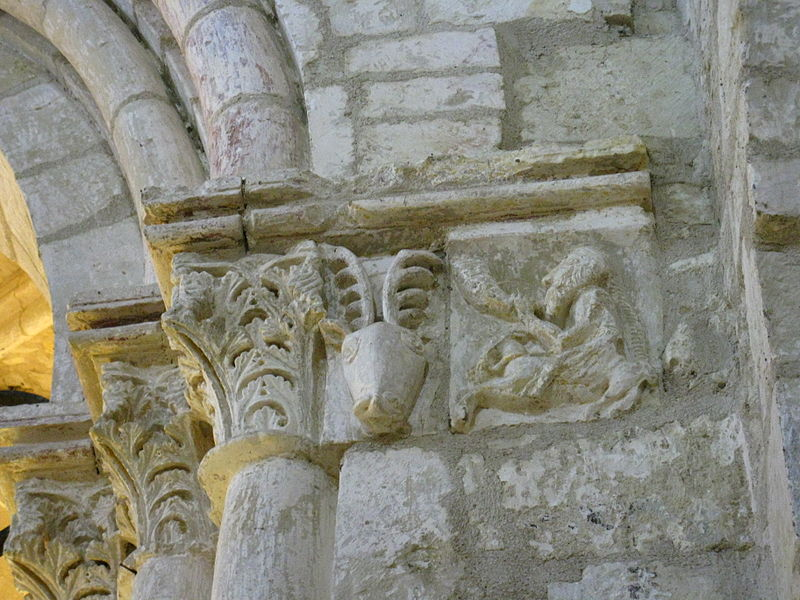 Figurative sculptures from the Saint-Martin church in Lagery (France, 51) ; 11th or 12th century