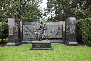 National Seabee Memorial - The memorial in 2011
