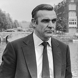 Sean Connery as James Bond (1971, cropped)