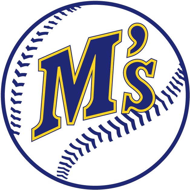 Seattle Mariners logo 1987 to 1992