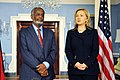 Secretary Clinton Holds a Bilateral Meeting With Sudanese Foreign Minister Karti (5390577523).jpg