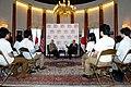 Secretary Clinton and Ambassador Roos at the Tomodachi Event (7527659028).jpg