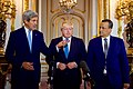 Secretary Kerry Stands With British Foreign Secretary Johnson and UN Special Envoy Ahmed (30065675560).jpg