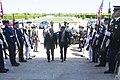 Secretary of Defense Chuck Hagel hosts on honor cordon for United Kingdom's Secretary of State for Defense Phillip Hammond at the Pentagon May 2, 2013 (Pic 4).jpg