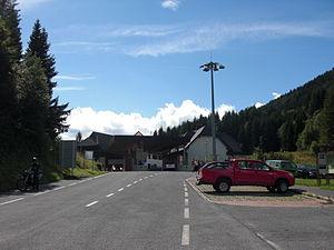 Seeberg Saddle - Border crossing at the summit