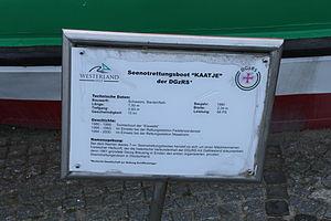 Seenotrettungsboot der DGzRS Kaatje in Westerland 1.JPG