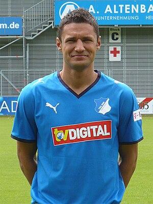 Sejad Salihović - Salihović with 1899 Hoffenheim in 2008