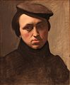 Self-portrait with hat-Hyppolyte Flandrin-B1278-IMG 0461.jpg