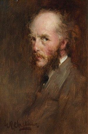George Paul Chalmers - Self-portrait