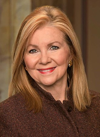 2018 United States Senate election in Tennessee - Image: Sen. Marsha Blackburn (R TN) official headshot 116th Congress (cropped)