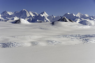 Sentinel Range Mountain range in Antarctica, northward of Minnesota Glacier, forms the northern half of the Ellsworth Mountains