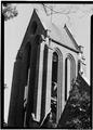 September 1969 DETAIL OF TOWER - Christ Church (Episcopal), 3116 O Street Northwest, Washington, District of Columbia, DC HABS DC,GEO,113-3.tif