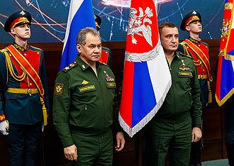 Alexey Dyumin - Image: Sergey Shoigu and Alexey Dyumin (2016 01 29)
