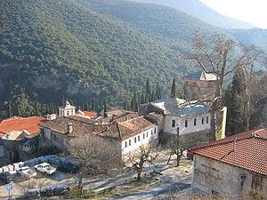 Serres Monastery Panorama