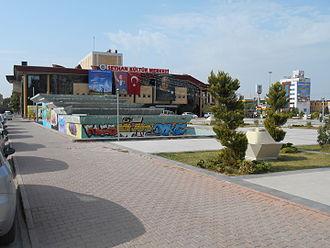 Seyhan Cultural Center - Image: Seyhan Theatre east view