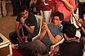 Shahrukh Khan, Adnan Safee and Bappaditya Roy. On the sets of Hyundai i11.jpg