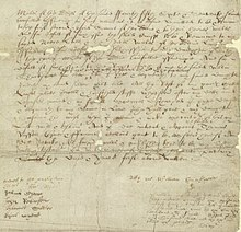 Shakespeare's handwriting - Wikipedia