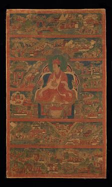 Sharmapa Lama, Chodag Yeshe Palzang, the 4th Shamar Rinpoche (1453-1554) - Google Art Project.jpg