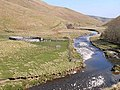Sheepfold and River Coquet - geograph.org.uk - 1264117.jpg
