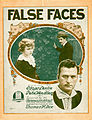 Sheet music cover - FALSE FACES (1919).jpg