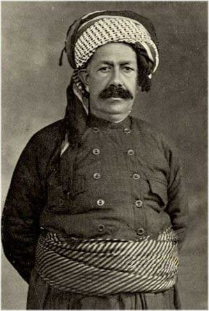 Mahmud Barzanji - Image: Sheikh Mahmoud Kurdistan's King (1918 1922)