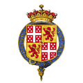 Shield of arms of Henry Wellesley, 1st Earl Cowley, KG, GCB, PC.png