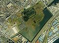 Shinhama Imperial Wild Duck Preserve Aerial photograph.1989.jpg