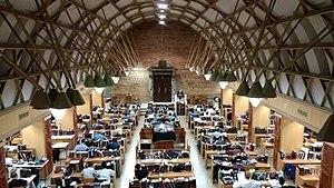 Yeshivat Kerem B'Yavneh - Inside Yeshivas Kerem B'Yavne Beis Medrash during Rav Kav's shiur klali