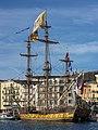Shtandart (ship, 1999), Sète cf03.jpg