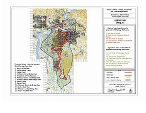 Shushtar - Image: Shushtar MAP