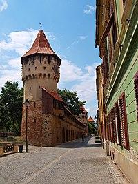 Sibiu fortifications TB1
