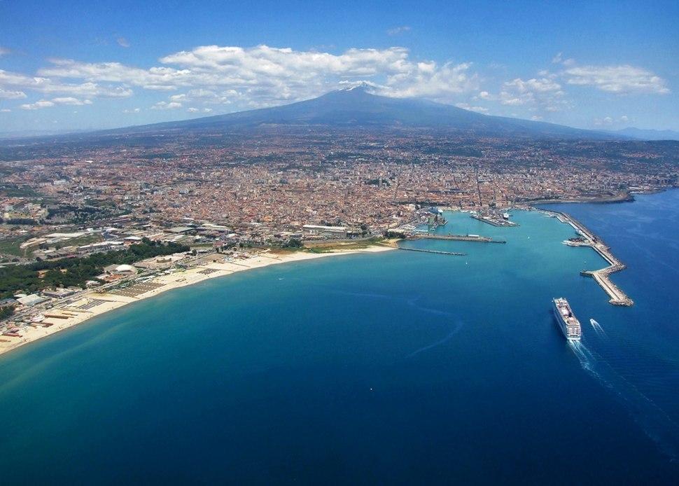 Sicilia - Catania dall'alto