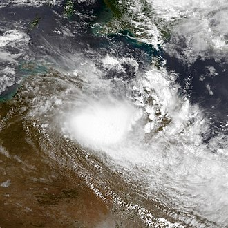 1997–98 Australian region cyclone season - Image: Sid dec 28 1997 0526Z