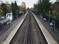 Sidcup station high eastbound.JPG