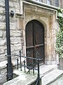 Side entrance to St Andrew Undershaft - geograph.org.uk - 921478.jpg