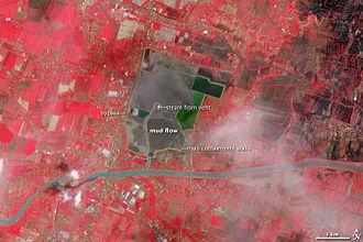 Santos Limited - Image: Sidoarjo Mud Flow