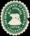 Siegelmarke Der Gemeinderath zu Bärenstein Amtsh. Annaberg W0314503.jpg