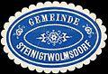 Siegelmarke Gemeinde Steinigtwolmsdorf W0217475.jpg