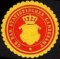 Siegelmarke Grossherzoglich Badische Statistisches Landesamt W0227236.jpg