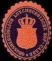 Siegelmarke Grossherzoglich Luxemburgische Hof-Casse W0251533.jpg