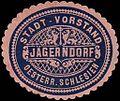 Siegelmarke Stadt - Vorstand Jägerndorf - Oesterreichisch - Schlesien W0247216.jpg